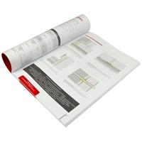 печать брошюр на клею