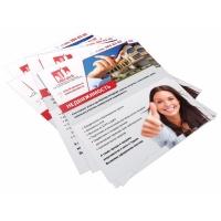 печать листовок и флаеров